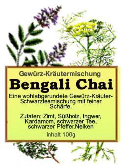 Bengali Chai - Gewürz-Kräutermischung 100g