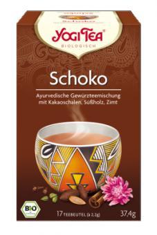 """Yogi """"Schoko"""" (Yogi Tea) 17 x 2,2g"""