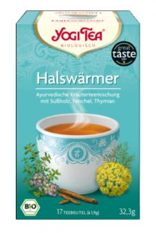 Halswärmer Tee (Yogi Tea) 17 x 1,9g