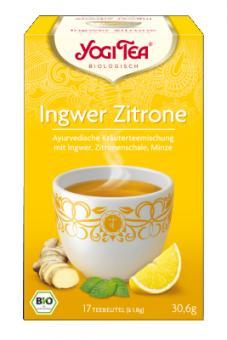 Ingwer-Zitrone-Tee (Yogi Tea) 17x1,8g