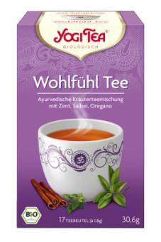 Wohlfühl-Tee (Yogi Tea) 17 x 1,8g